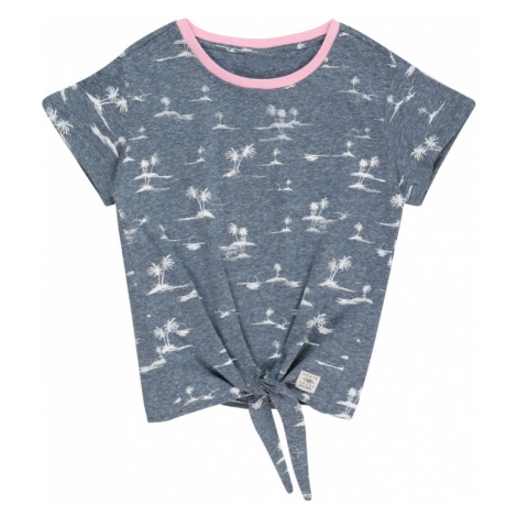 PROTEST Tričko 'CAMRON' chladná modrá / bílá / růžová
