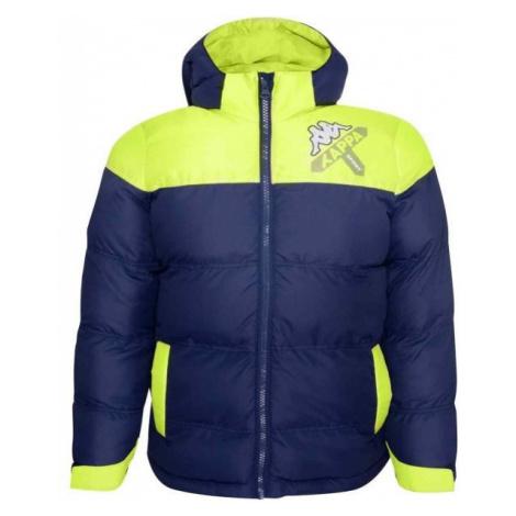 Kappa LOGO ZITRAX tmavě modrá - Dětská zimní bunda