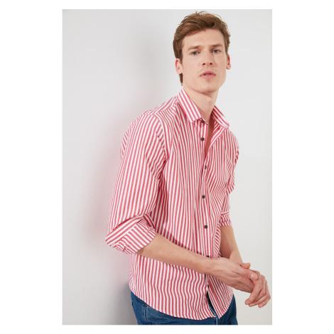 Trendyol Tile Men Slim Fit Shirt Collar Shirt