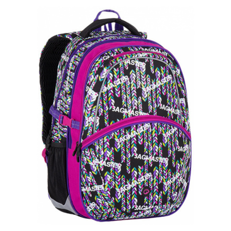 Bagmaster Madison 7 B Black/pink/violet