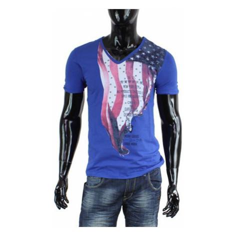 CARISMA tričko pánské 4080 krátký rukáv modré