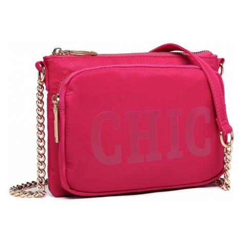 Červená trendy crossbody kabelka Zayna Lulu Bags