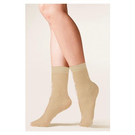 Dámské ponožky 691 Roma beige Gabriella