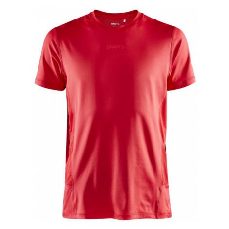 Pánské tričko CRAFT ADV Essence SS červená