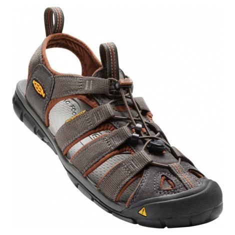 Pánské sandály Keen Clearwater CNX M raven/tortoise shell 8,5 UK