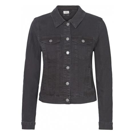 Vero Moda Dámská bunda Hot Soya Ls Denim Jacket Mix Noos Black