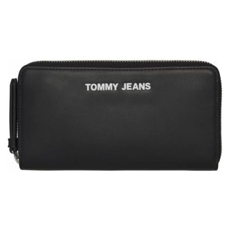 Tommy Hilfiger Tommy Jeans dámská černá peněženka TJW PU LG ZA WALLET