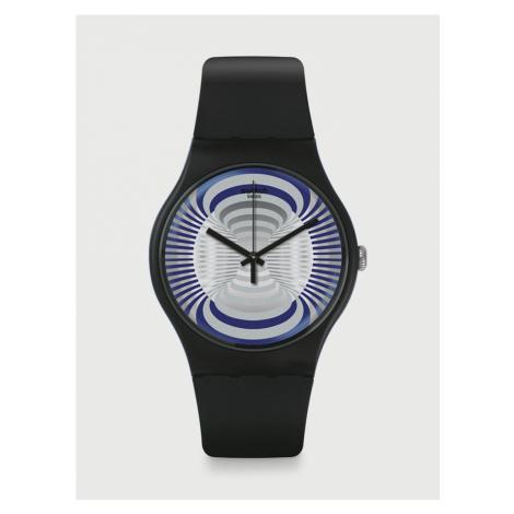 Microsillon Hodinky Swatch Černá