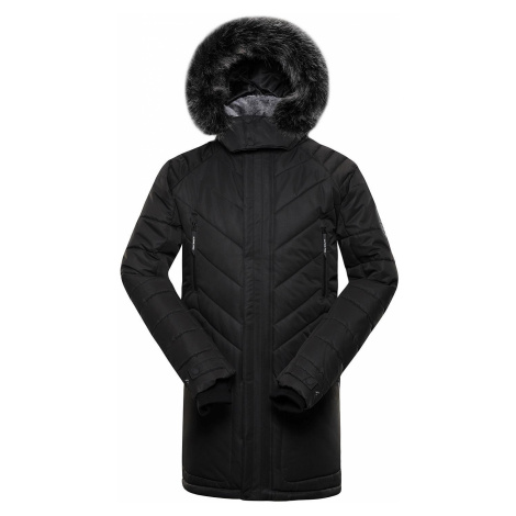 Pánská zimní bunda Alpine Pro ICYB 6 - černá