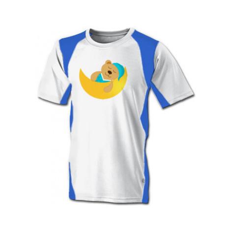 Funkční tričko pánské Spící méďa