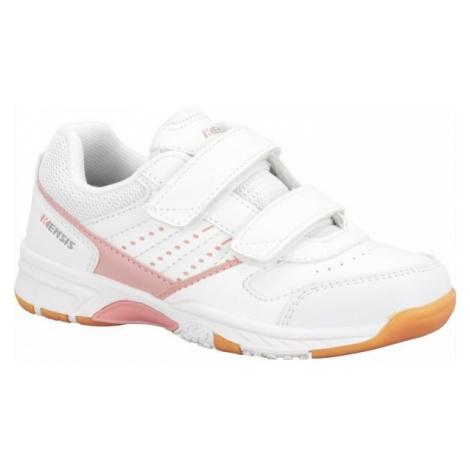 Kensis WAYLAN VEL růžová - Dětská sálová obuv