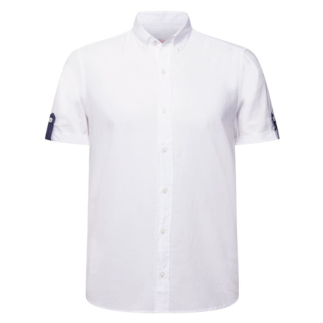 S.Oliver Košile bílá / námořnická modř