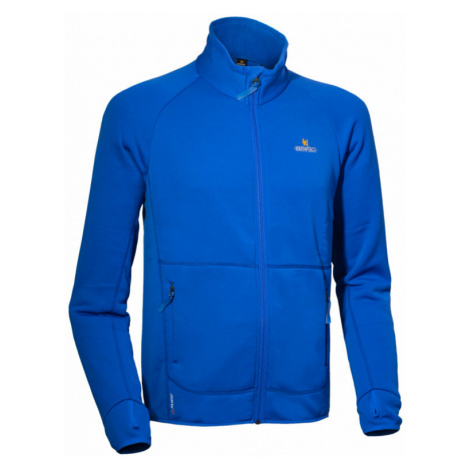 Pánská bunda Warmpeace Trevor Powerstretch royal blue