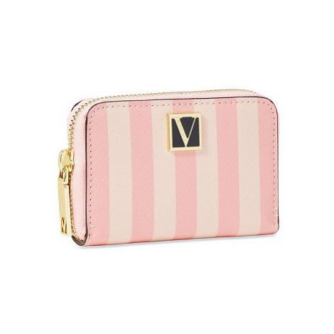 Victorias Secret malá pruhovaná peněženka The Victoria Small Wallet Victoria's Secret