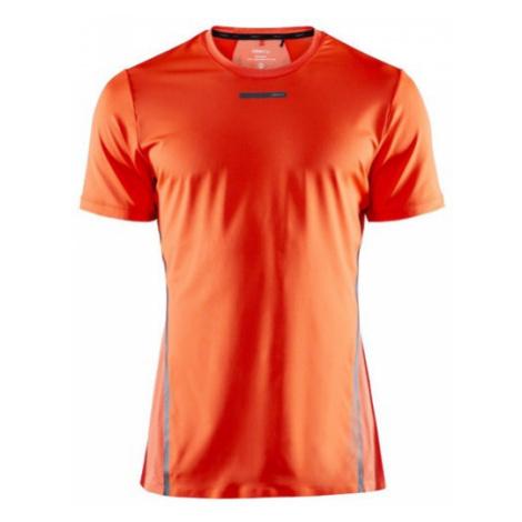 Pánské tričko CRAFT Vent Mesh SS oranžová