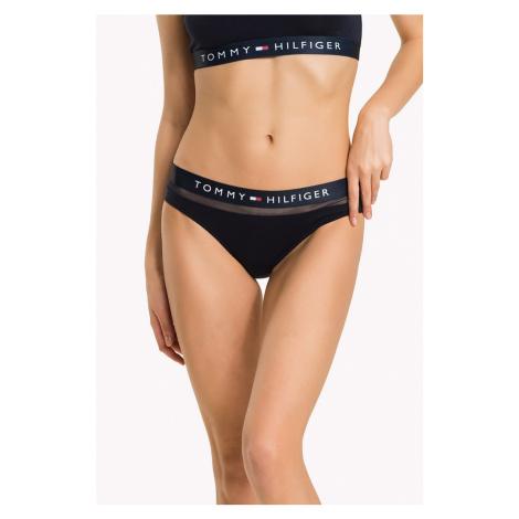 Tommy Hilfiger tmavě modré kalhotky Bikini Feb Fashion Basic