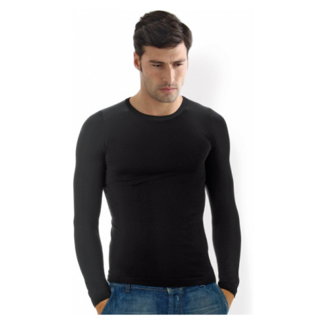 Pánské triko bezešvé T-shirt girocollo manica lunga