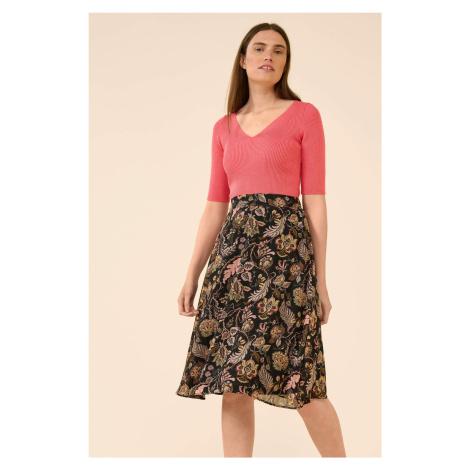 Áčková sukně s květy Orsay