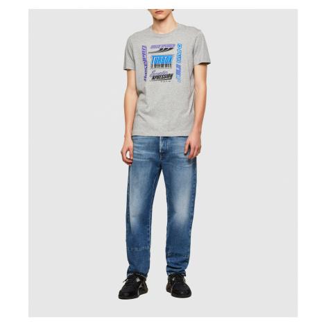 Tričko Diesel T-Diegos-K38 T-Shirt - Šedá