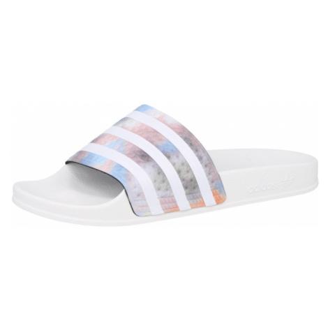ADIDAS ORIGINALS Pantofle bílá / mix barev