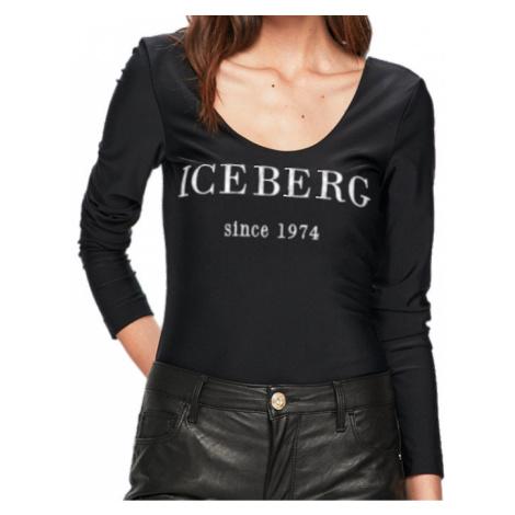 Černé body tričko ICEBERG
