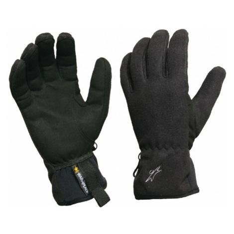 Pánské rukavice Warmpeace Finstorm black