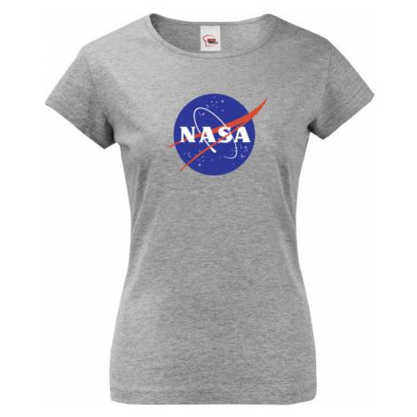 Dámské / dívčí tričko s potiskem vesmírné agentury NASA BezvaTriko