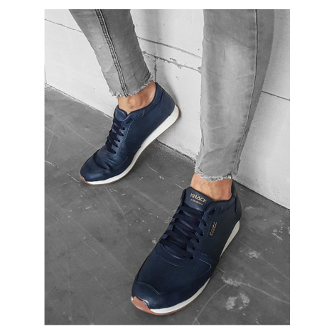 Navy blue men's shoes ZX0173 DStreet