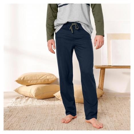 Blancheporte Pyžamové kalhoty, námořnicky modré nám.modrá