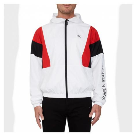 Calvin Klein pánská bílá bunda