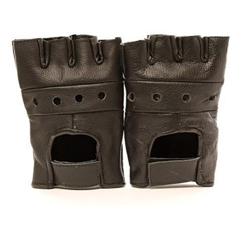 Rukavice bez prstů černé