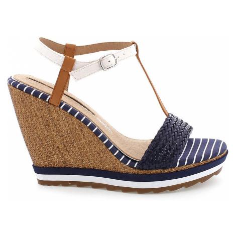 8845919ea6 MARIA MARE Černé sandály na nízkém podpatku MARIA MARE