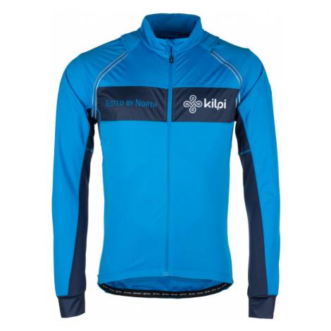 Kilpi Pánská cyklistická bunda Zester modrá