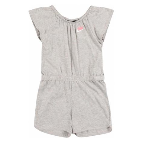 Nike Sportswear Overal šedá