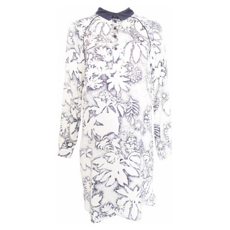 Košilové bílomodré šaty Kookai Kookaï