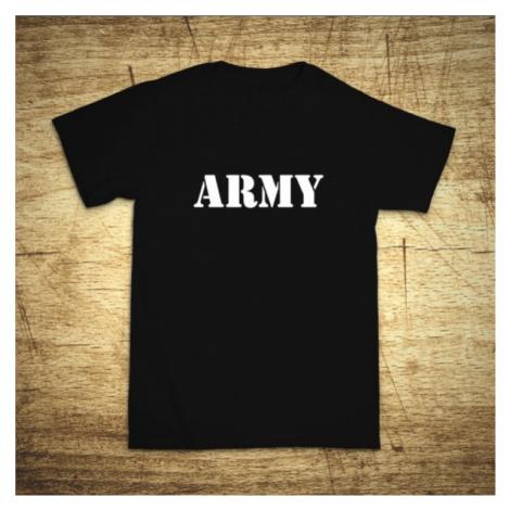 Tričko s motívom Army BezvaTriko