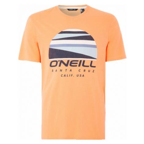 O'Neill LM SUNSET LOGO T-SHIRT oranžová - Pánské tričko