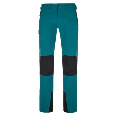 KILPI Pánské outdoorové kalhoty - větší velikosti TIDE-M NMX015KITRQ Tyrkysová