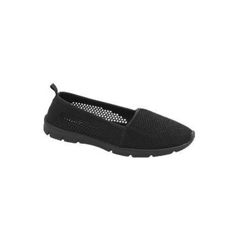 Černá slip-on obuv Graceland