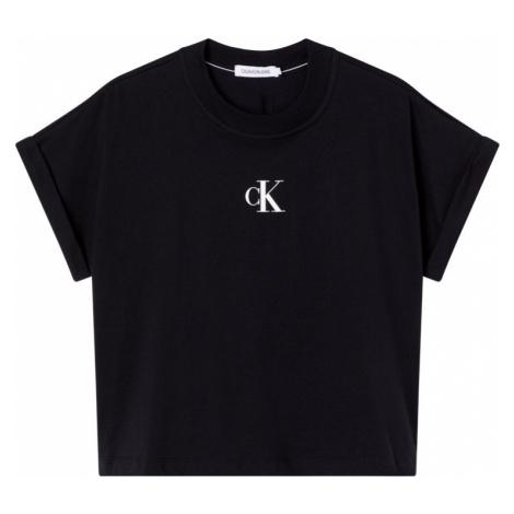 Calvin Klein Calvin Klein Jeans dámské černé tričko URBAN LOGO TEE