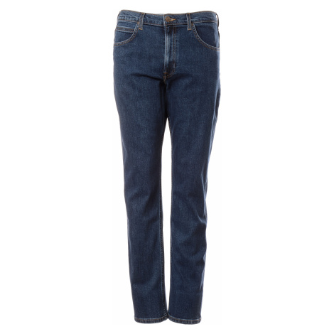 Lee jeans Brooklyn Straight Dark Stone pánské modré