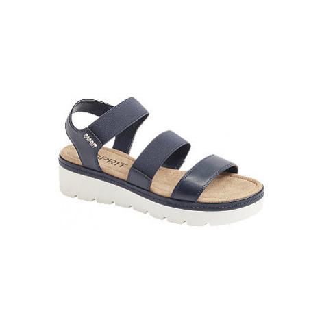 Modré sandály Esprit