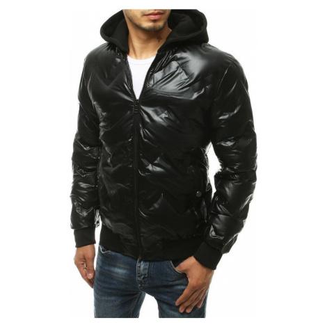 Černá pánská lesklá zimní bunda TX3439 BASIC