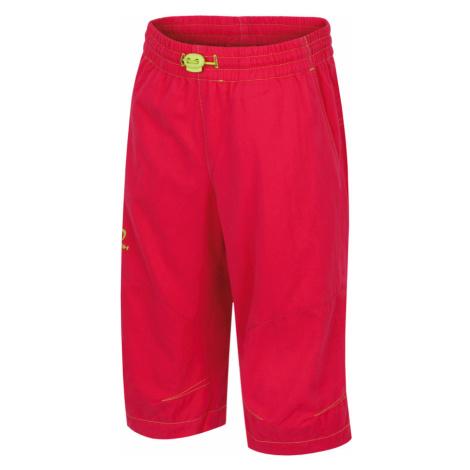 HANNAH Ruffy JR Dětské 3/4 kalhoty 117HH0132LC01 Rose red