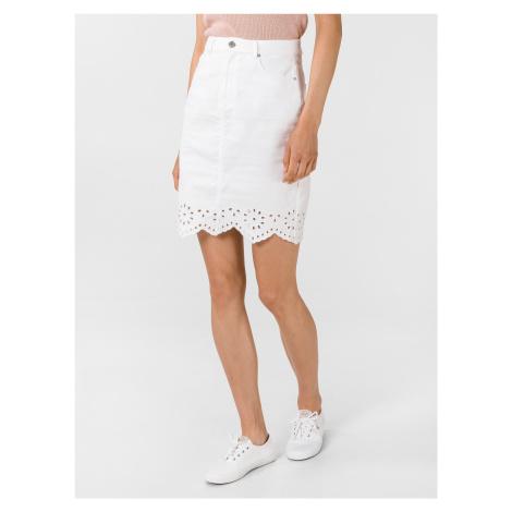 Lisa Sukně Vero Moda Bílá