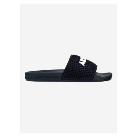 Pantofle Armani Exchange Modrá