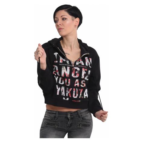 Mikina Yakuza Angel Cropped