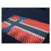 Pánské tmavě modré tričko Napapijri s velkou vlajkou