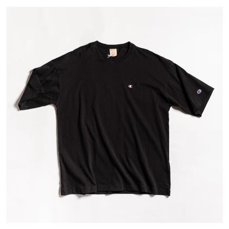 Černé tričko Crewneck T-Shirt Champion