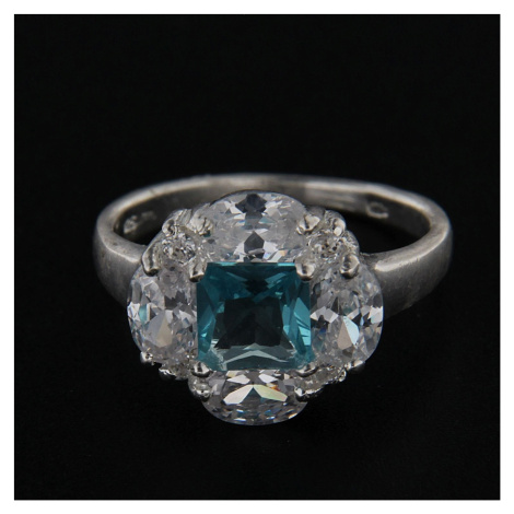 Stříbrný prsten 14312